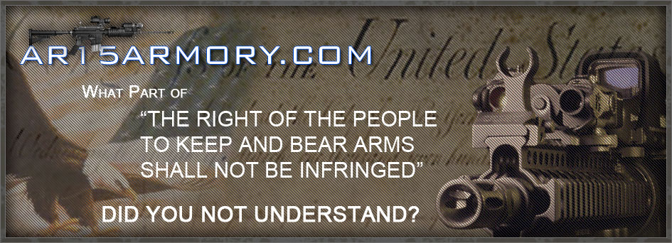 AR15Armory, a Gun forum for We The People
